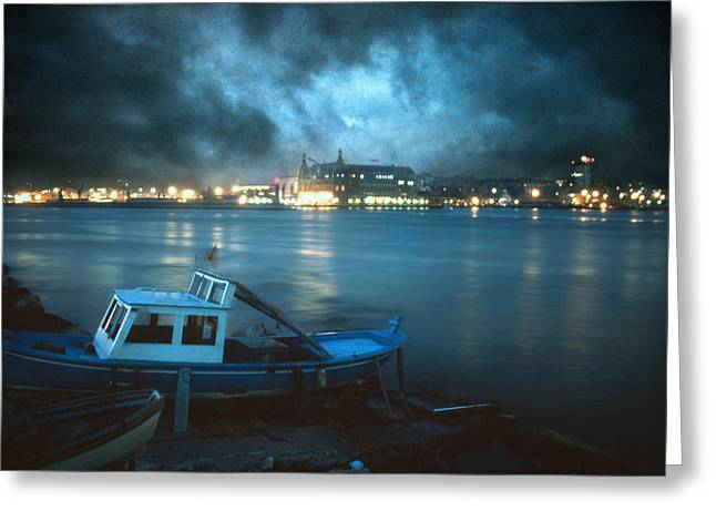 Marmara Greeting Cards - Night after night Greeting Card by Taylan Soyturk
