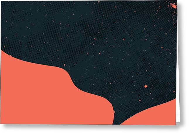 Night fills up the sky Greeting Card by Budi Kwan
