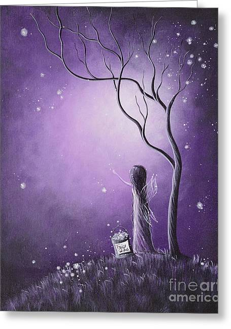 Best Sellers -  - Wishes Greeting Cards - Original Fairy Artwork by Shawna Erback Greeting Card by Shawna Erback