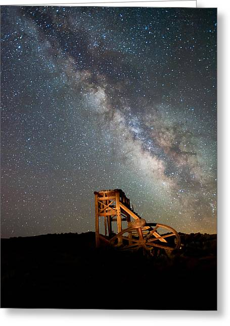 Equipment Greeting Cards - Night Shift Greeting Card by Cat Connor