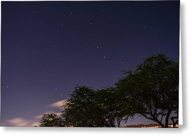 Little Dipper Greeting Cards - Night Time Skies Greeting Card by David Courtnay