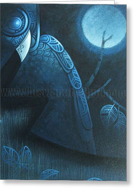 Nightwatch Greeting Cards - Night Watch Greeting Card by Biswanath  Dhul