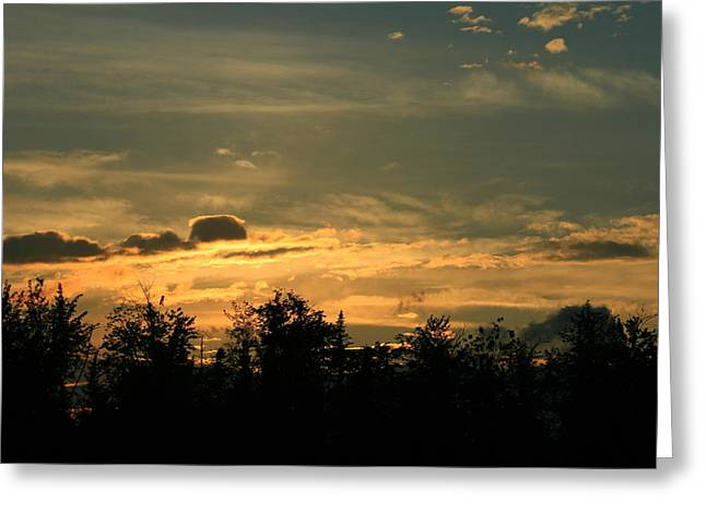 Night Winds Greeting Card by Neal  Eslinger