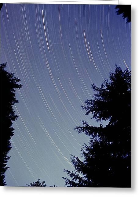 Astro Images Greeting Cards - Night Wonders Greeting Card by Teresa Herlinger