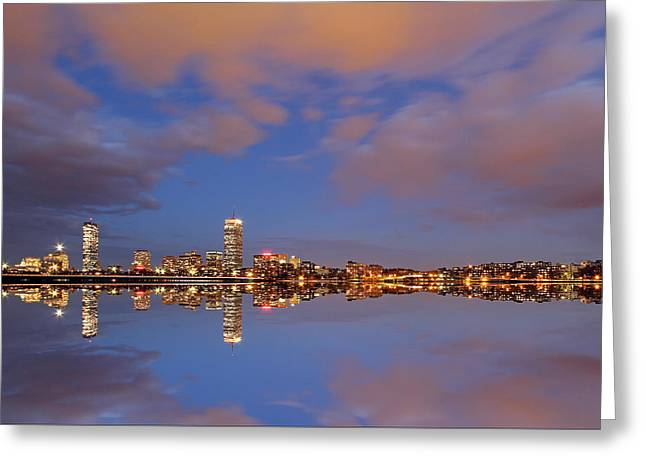 Huntington Hotel Greeting Cards - Nightfall Greeting Card by Juergen Roth