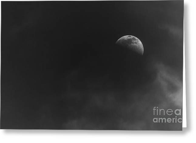 Moon Light Greeting Cards - Nightlight Greeting Card by Marvin Spates