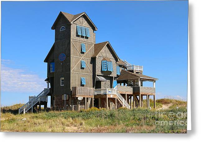 Rodanthe Greeting Cards - Nights in Rodanthe House 2938 Greeting Card by Jack Schultz