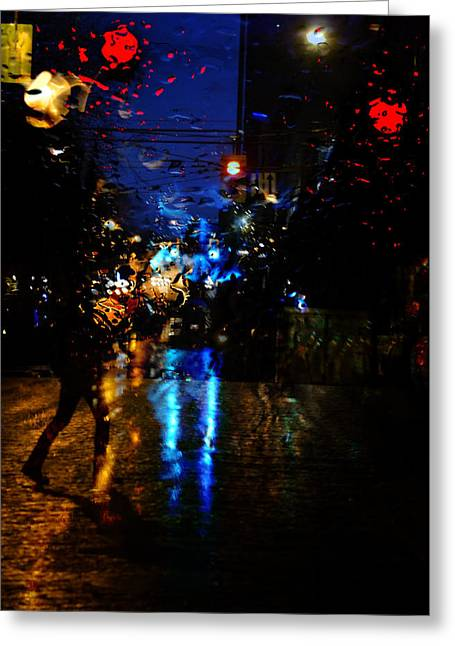 Vancouver Greeting Cards - Nights Reflect  Greeting Card by Jerry Cordeiro