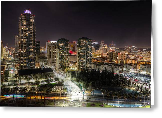 Commercial Photography Greeting Cards - Nighttime Greeting Card by Heidi Smith