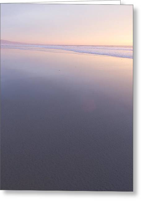 Ocean. Reflection Greeting Cards - Nil Greeting Card by Peter Tellone