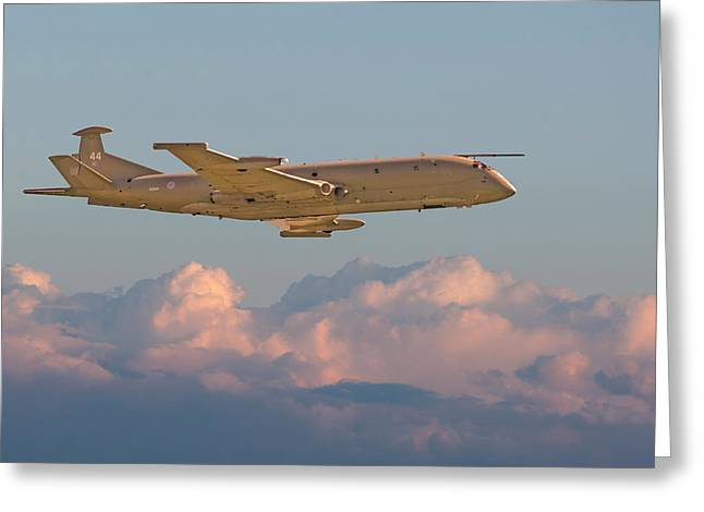 Maritime Classics Greeting Cards - Nimrod - Maritime Patrol Aircraft Greeting Card by Pat Speirs