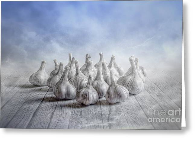 Peaceful Still Life Greeting Cards - Nineteen Greeting Card by Veikko Suikkanen