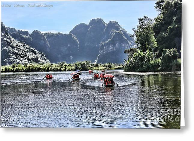 Binh Greeting Cards - Ninh Binh II Greeting Card by Chuck Kuhn
