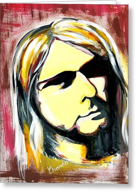 Best Seller Greeting Cards - Nirvana Greeting Card by Khanda Lewis