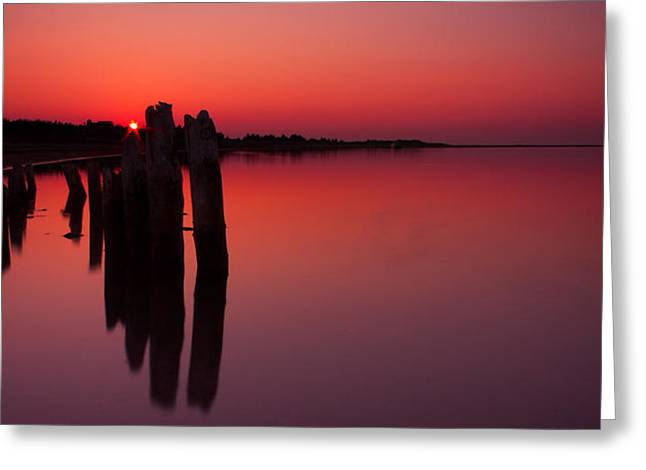 Ocean Panorama Greeting Cards - Nirvana Greeting Card by Matt Dobson