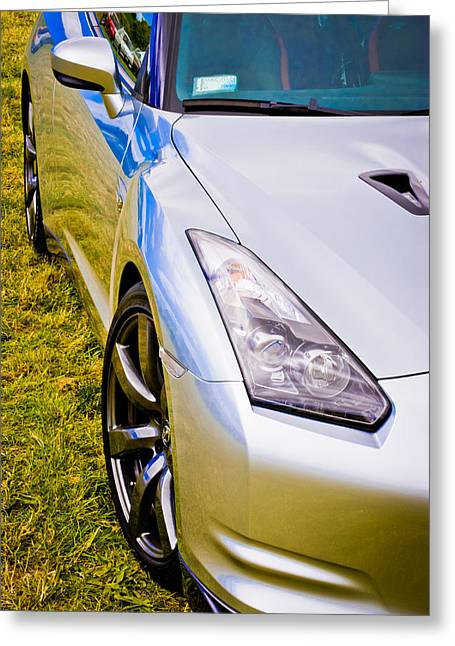 Phil Motography Clark Greeting Cards - Nissan GTR 2 Greeting Card by Phil