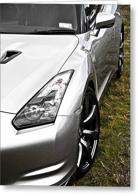 Phil Motography Clark Greeting Cards - Nissan GTR Greeting Card by Phil