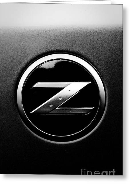 Tire Greeting Cards - Nissan Z Greeting Card by Jt PhotoDesign