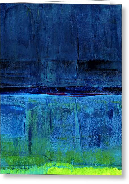 Recently Sold -  - Ocean Landscape Greeting Cards - No. 226 Greeting Card by Diana Ludet