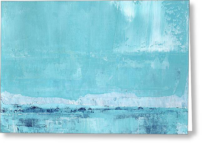 Recently Sold -  - Ocean Landscape Greeting Cards - No. 228 Greeting Card by Diana Ludet