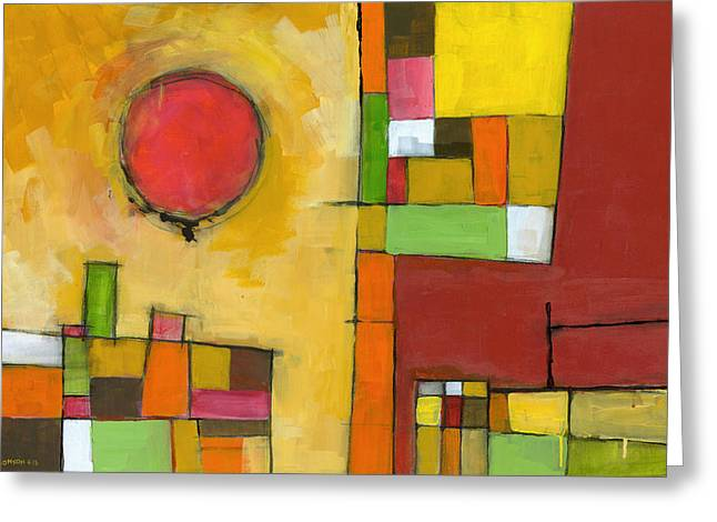 Abstraction Greeting Cards - No Coincidence Greeting Card by Douglas Simonson