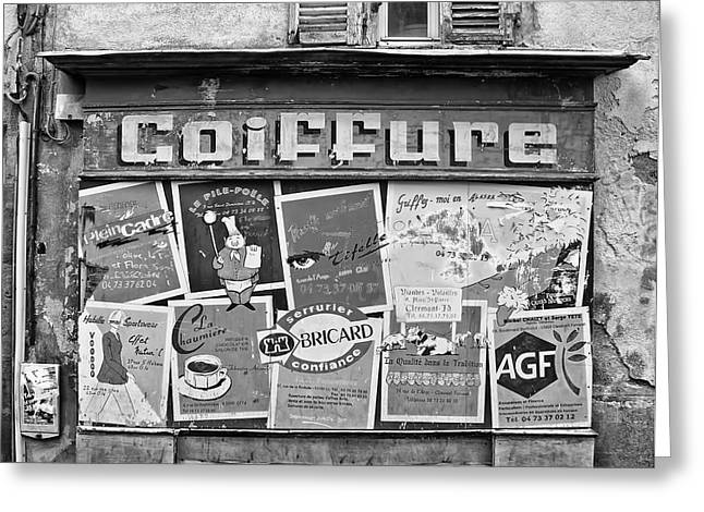 Coiffure Greeting Cards - No Cuts Today Greeting Card by Nomad Art And  Design