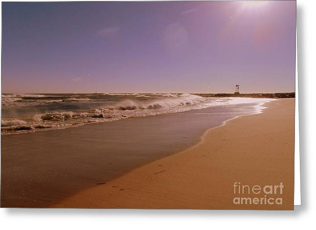 November Framed Prints Greeting Cards - No Holiday Traffic Here Greeting Card by Eunice Miller