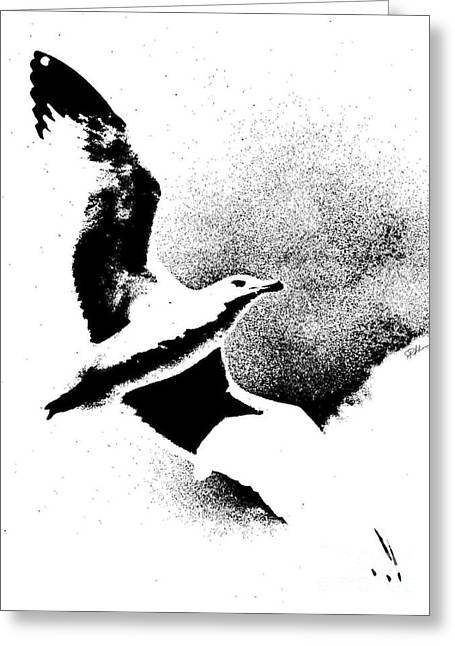 Wingtips Greeting Cards - No Limits  Greeting Card by Phillip Allen