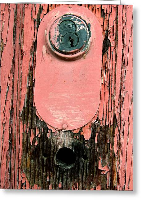 Painted Wood Greeting Cards - No Longer Needed - 2 Greeting Card by Kae Cheatham