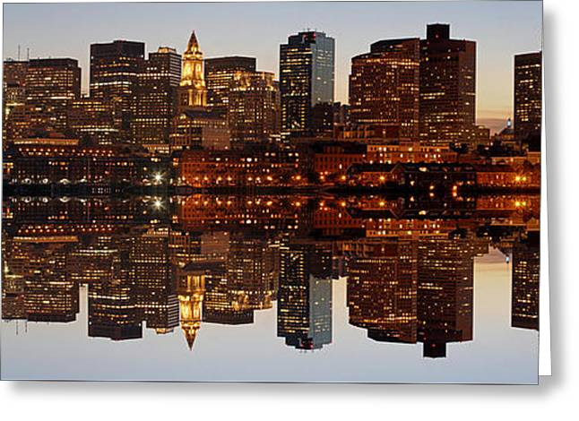 Beantown Greeting Cards - No Place I Rather Be Greeting Card by Juergen Roth