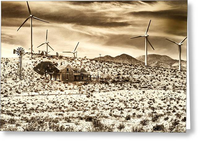 Featured Photos Greeting Cards - NO PLACE LIKE HOME 2 Palm Springs Greeting Card by William Dey