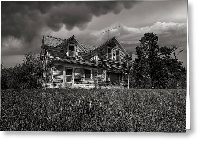 Severe Greeting Cards - No Place Like Home Greeting Card by Aaron J Groen