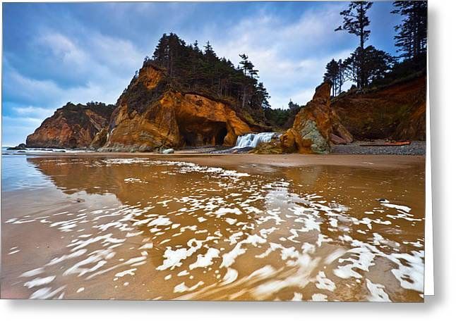 Pacific Northwest Greeting Cards - No Sunset Hug Greeting Card by Darren  White