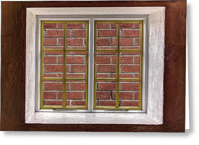 Locked Out Greeting Cards - No View Greeting Card by Semmick Photo