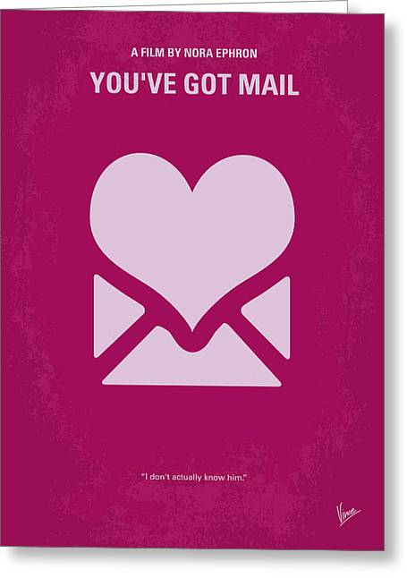 Internet Greeting Cards - No107 My Youve Got Mail movie poster Greeting Card by Chungkong Art