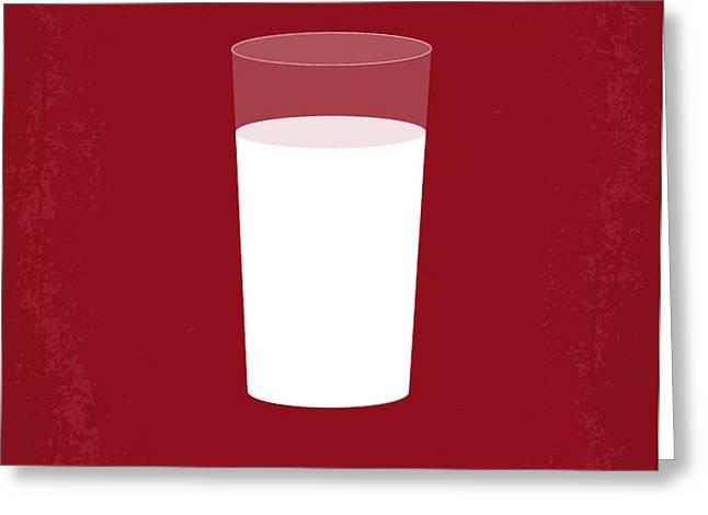 No138 My Inglourious Basterds minimal movie poster Greeting Card by Chungkong Art