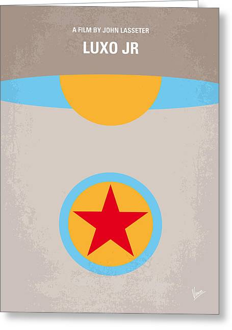 Job Greeting Cards - No171 My LUXO JR minimal movie poster Greeting Card by Chungkong Art