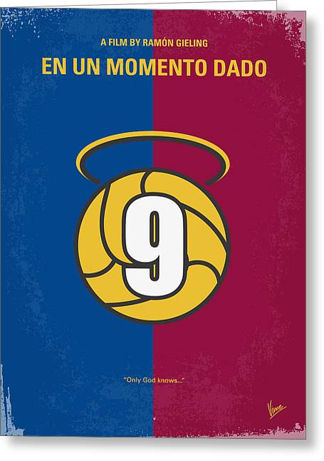 No272 My En Un Momento Dado Minimal Movie Poster Greeting Card by Chungkong Art