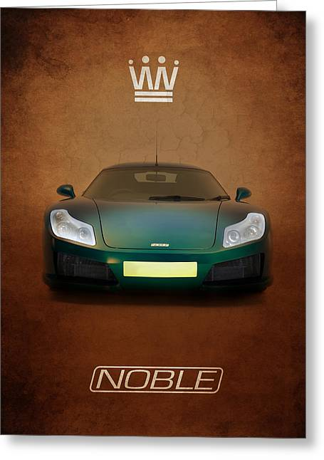 Noble Greeting Cards - Noble M15 Greeting Card by Mark Rogan