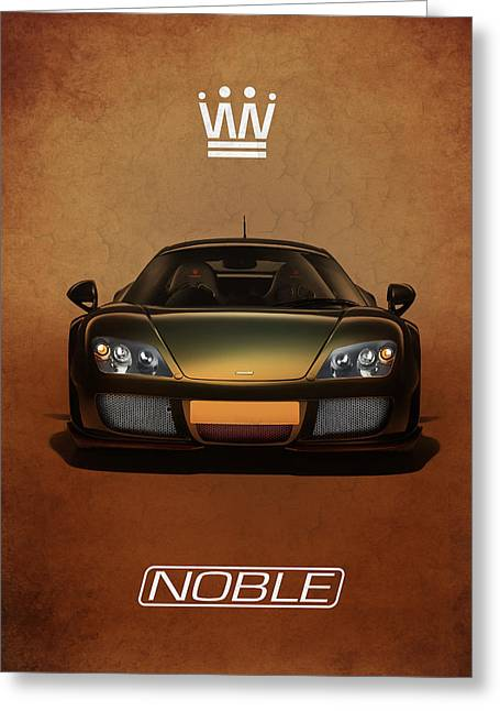 Noble Greeting Cards - Noble M600 Greeting Card by Mark Rogan