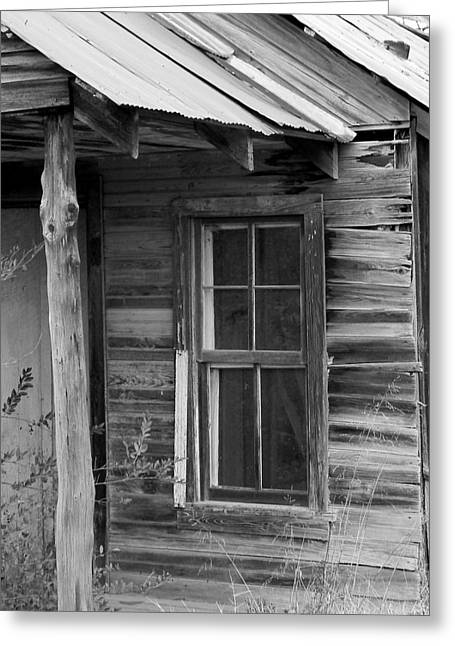 Old Home Place Digital Greeting Cards - Nobody Home Greeting Card by Brad Lindsey