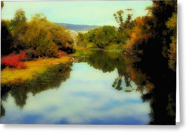 Artistic Photography Greeting Cards - Nod to Monet Greeting Card by Kandy Hurley