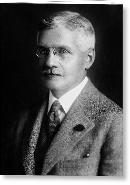 Noel Statham Greeting Card by Williams Haynes Portrait Collection, Chemists� Club Archives/chemical Heritage Foundation