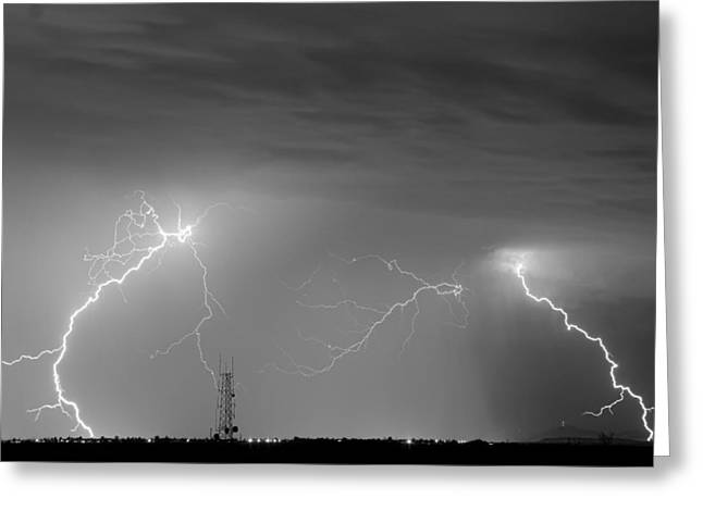 Storm Prints Photographs Greeting Cards - Noise Greeting Card by James BO  Insogna