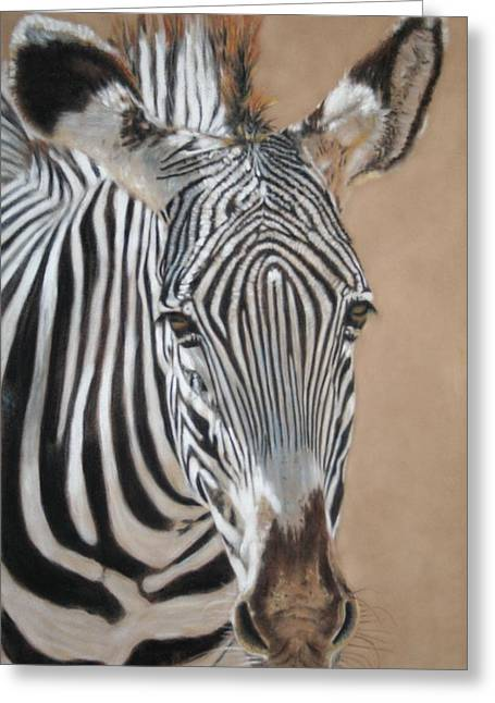 Africa Pastels Greeting Cards - Nomad  Greeting Card by Carol McCarty