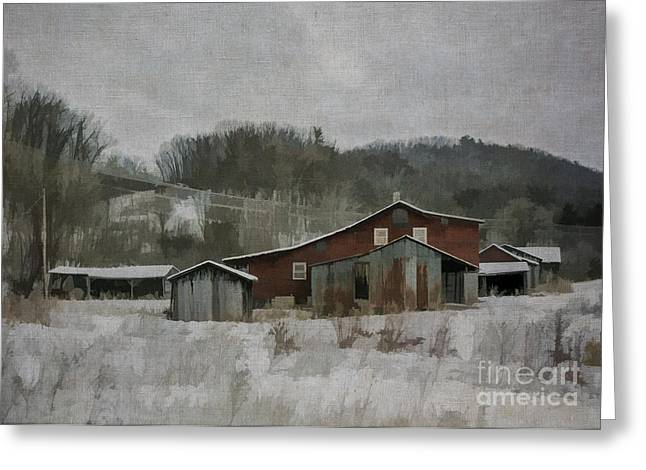 Md Greeting Cards - Nonnas Farm Greeting Card by Terry Rowe