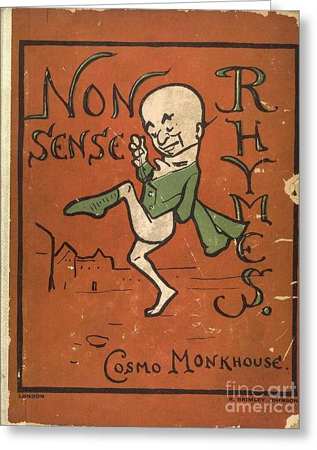 Brimley Greeting Cards - Nonsense Rhymes (1902) Greeting Card by British Library