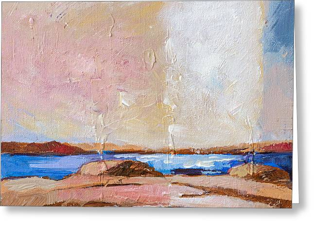 Nordic Greeting Cards - Nordic Seascape Greeting Card by Lutz Baar