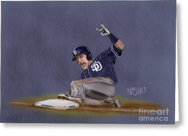 Petco Park Digital Art Greeting Cards - Norf Rocks Greeting Card by Jeremy Nash