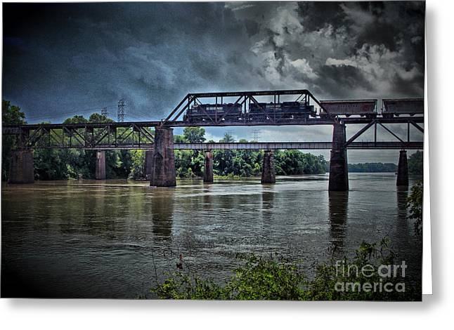 Train Rides Greeting Cards - Norfolk Southern Greeting Card by Skip Willits